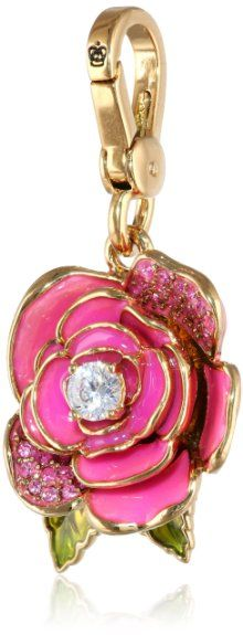 Amazon.com: Juicy Couture Rose Charm: Jewelry