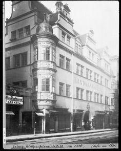 Fürstenhaus mit Fürstenerker um 1880