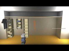 neatfreak closetMAX SYSTEM - double your closet hanging space