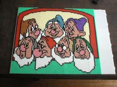 The Seven Dwarfs - Snow White hama perler beads by marmotte88130