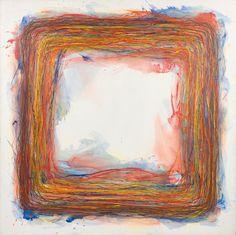 Acryl auf Leinwand; ungerahmt 197 x 198 cm Schätzpreis: 15000 - 30000 € Modern Art, Contemporary Art, Private Property, Art Nouveau, Auction, Canvas, Antiques, Austria, Artwork
