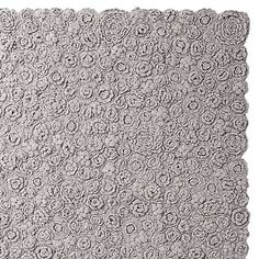 Crocheted rug, I would like to make this