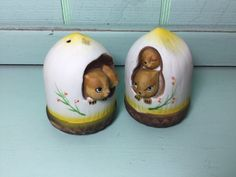 A personal favorite from my Etsy shop https://www.etsy.com/listing/462178384/chipmunks-salt-and-pepper-shakers