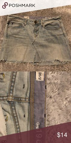 Vintage denim skirt Soft denim GAP Skirts Mini