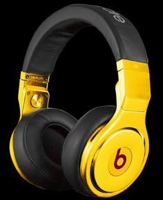 24-carat Gold Plated Beats By Dr. Dre Pro Headphone