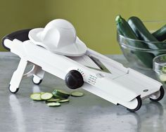 I need to find my instruction manual for this OXO V-Blade Mandoline.  I can't remember how to put it back together ;-)
