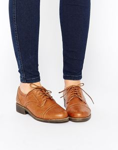 Image 1 of ASOS MAKE WAVES Brogues