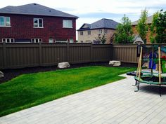 A satisfied client! Lush lawn