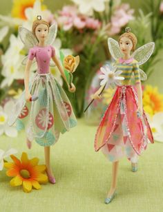 Spring #fairies by Gisela Graham