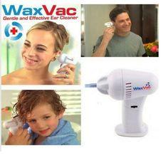 2016 limpieza de oídos waxvac limpiador del oído Eléctrica niño bebé niño kit de eliminación de vacío de masaje dispositivo auditivo dig bebés oído elegir scoop