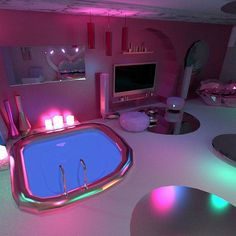 cool Brilliant Diy Apartment Decor Ideas Options Life, Death, and Brilliant Diy Apartment Decor Ideas DIY bedroom decor does not need to be expensive, foll. Cute Bedroom Ideas, Girl Bedroom Designs, Awesome Bedrooms, Cool Rooms, Neon Bedroom, Girls Bedroom, Bedroom Decor, Dream Rooms, Dream Bedroom