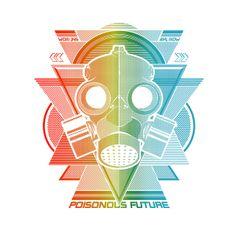 Poisonous Future - Estampa para t-shirt Woxi