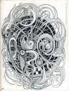 Creative Haven Woodcut Designs Coloring Book Diverse