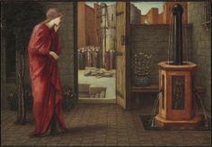 Edward Burne-Jones, Danaë Watching the Building of the Brazen Tower, 1872, Harvard Art Museums/Fogg Museum.