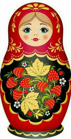 ideas doll tattoo nesting for 2019 Matryoshka Doll, Kokeshi Dolls, Paper Dolls, Art Dolls, Pebeo Porcelaine 150, Doll Tattoo, Russian Folk Art, Russian Culture, Arte Popular