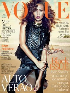 Joan Small cover Vogue Brasil January issue