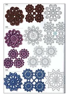 diagrams crochet circles