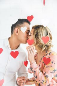 Shot at the fabulously fun Je T'aime Beauty Studio, this couple truly got in the spirit in this adorable Valentine's Day-themed engagement session from Kim Le Photography. Complete with cascading paper hearts, whimsical touches, and so much cuteness, click through the gallery here so you can feel the love! From Kim Le Photography… A flirty and fun Valentine's Day […]