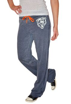 Chicago Bears Star Player French Terry Sweat Pants by Alyssa Milano Touch (medium) #chicagobears #bears #bearsnation #forte