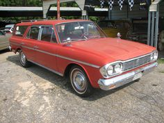 1966 Rambler Station Wagon We had many camping trips and ski trips with a family of six and all our gear in this wagon.