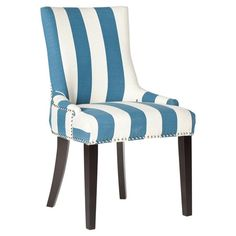 Lester Side Chair in Blue (Set of 2) at Joss and Main