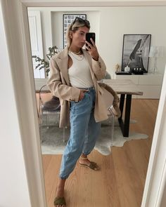 home selfie ✔️ Stylish Outfits, Stylish Clothes, Duster Coat, Normcore, Selfie, Chic, Jackets, Instagram, Style