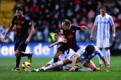 The Goals: FC Barcelona 4-1 Málaga CF
