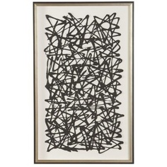 Ethan Allen Black Paper Art. My favorite piece!!
