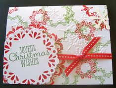 Doilie Christmas by ruby-heartedmom - Cards and Paper Crafts at Splitcoaststampers