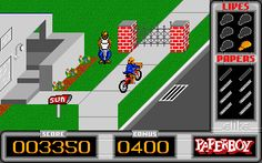 Paperboy - Atari ST - 1989