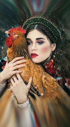Fashion photograph in Russian style by Margarita Kareva. Fantasy Photography, Amazing Photography, Portrait Photography, Fashion Photography, Themed Photography, Margarita, Portrait Art, Portraits, Sublime Creature