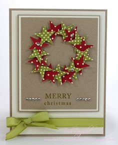 wreath + christmas cards - Google Search