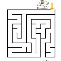 Give the kids a fun prize for Easter egg hunt such as printable maze. This fun printable game features an Easter bunny looking for some carrots.