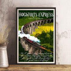 Wizard World PosterForbidden Forest Print ArtHogwarts | Etsy Christmas Tv Shows, Wall Prints, Fine Art Prints, Dinosaur Mug, Forbidden Forest, Harry Potter Poster, Book Wall, Hogwarts, Wall Art