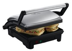 Russell Hobbs Panini Grill and Griddle! 3 in 1 machine  http://www.getelectricgriddle.com/russell-hobbs-panini-grill-and-griddle/  #griddle #electric #panini #russellhobbs
