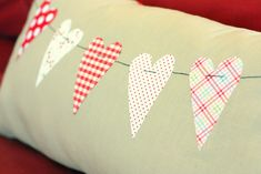 Valentine Throw Pillow Tutorial by Diary of a Quilter - UCreate