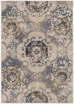 Surya MAV7016 Mavrick Blue Rectangle Area Rug