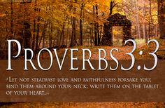 Bible Verses On Love Proverbs 3:3 Scripture HD Wallpaper   TOHH Bible ...