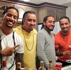 The Fatu brothers: Jon, Joseph, Jeremiah, & Josh