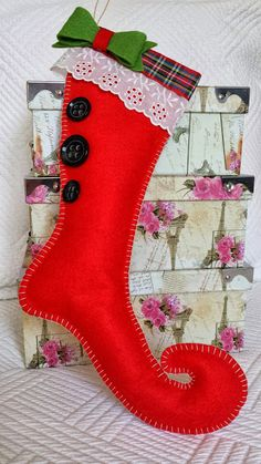 Stocking Stuffers for your Kids Pet Christmas Stockings, Christmas Stocking Pattern, Christmas Porch, Christmas Fun, Painted Ornaments, Xmas Ornaments, Christmas Arts And Crafts, Christmas Crafts, Christmas Animals