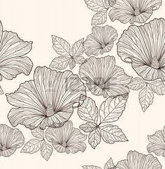 http://us.123rf.com/400wm/400/400/lapesnape/lapesnape1110/lapesnape111000020/10772626-seamless-floral-pattern-background-with-flowers-and-le...