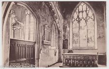 POSTCARD - Leggare Chapel, Burford Church (interior), Oxfordshire