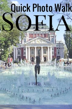 Take a walk in Sofia, Bulgaria and you'll fall in love with the city!