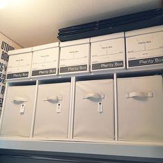 ウォークインクローゼット/カラーボックス収納/カラーボックス横置き/クローゼット収納…などのインテリア実例 - 2017-02-02 15:02:17 | RoomClip(ルームクリップ)