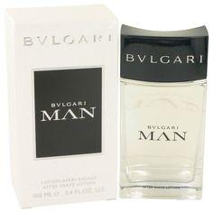 Bvlgari Man by Bvlgari 3.4 oz After Shave Lotion for Men NIB #Bulgari