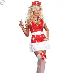 Sexy Vital Signs Nurse Costume Your heart will be racing when this naughty nurse takes your vital signs. This Vital Signs Sexy Nurse Costume includes a r Nurse Halloween Costume, Sexy Nurse Costume, Costume Dress, Halloween Party, Women Halloween, Adult Halloween, Nursing Dress, Nursing Clothes, Adult Costumes