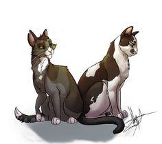 Twigpaw and Violetpaw