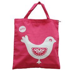 Game prize - Hipp! Designs printed tote bag    *look for similar item in Bangkok