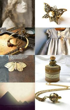 The Vintage Butterfly by Marukasa on Etsy