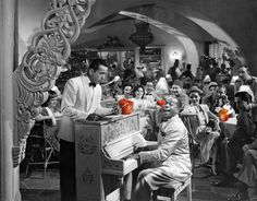 """Play It Again, Sam"" say Humphrey Bogart ""and eat a wok, too"" :) Wok restaurant in Casablanca."
